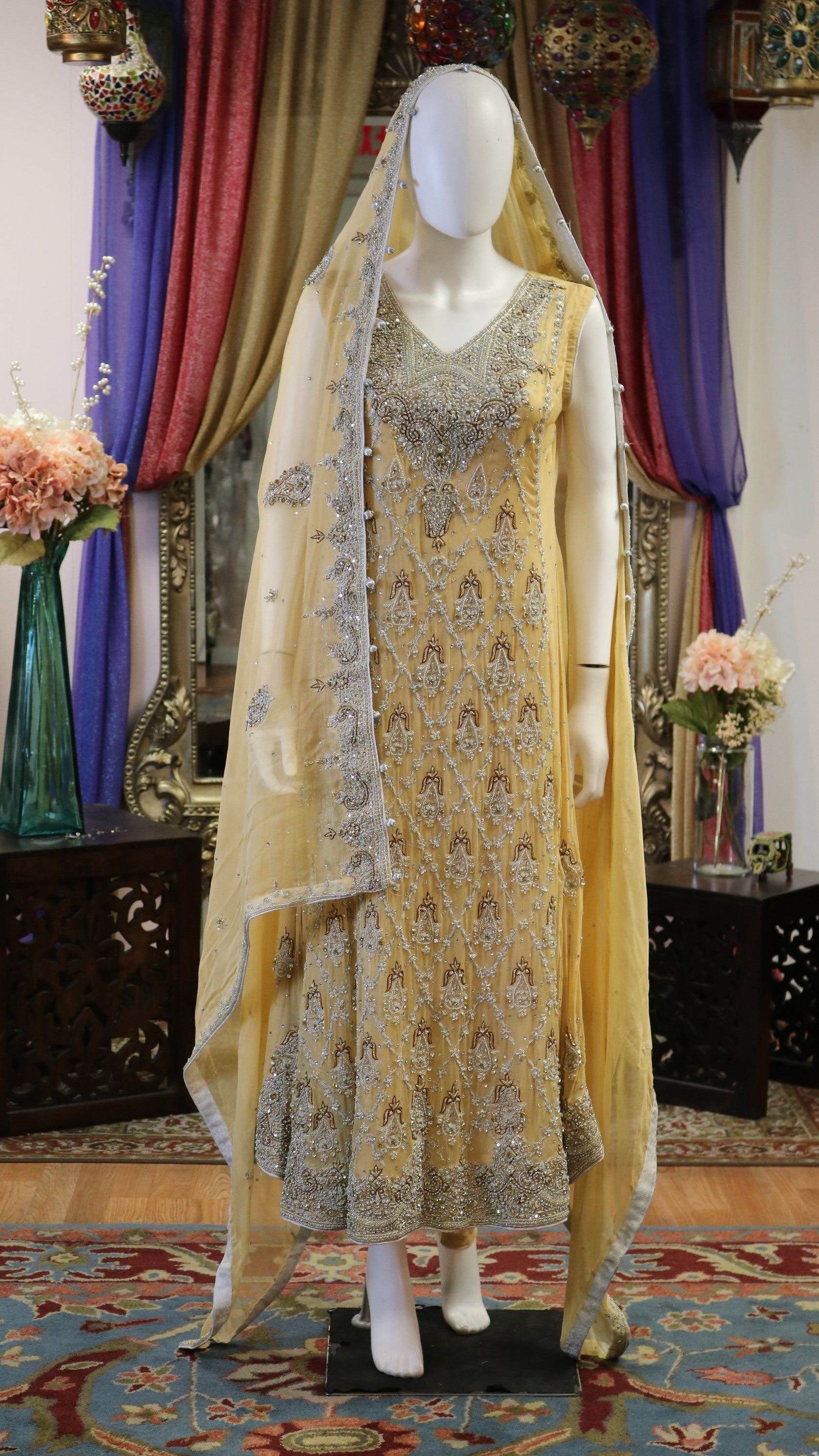 Pale Yellow Gown