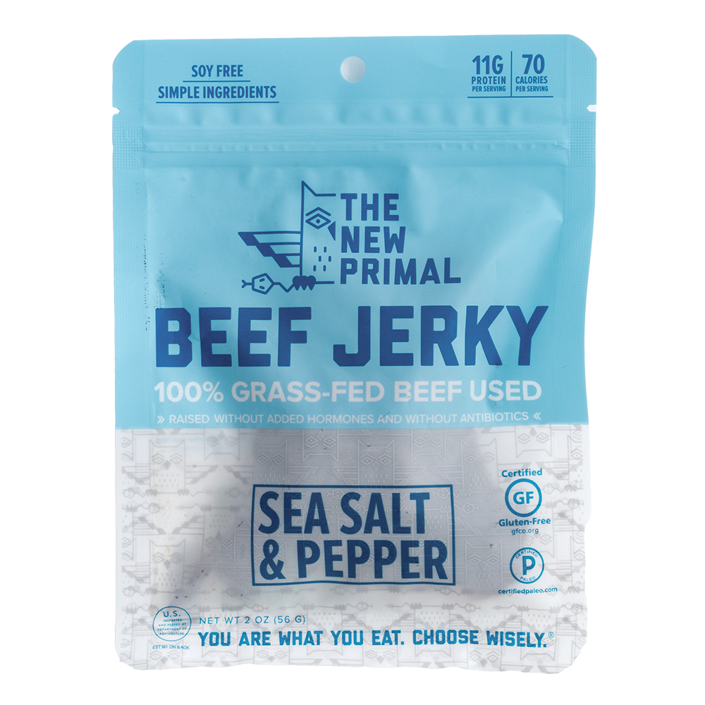 The New Primal - Jerky (8-Pack)