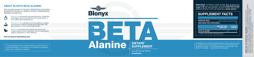 Blonyx - Beta Alanine