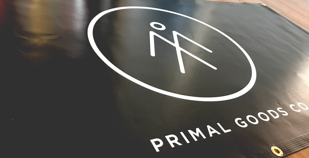 Primal Goods Co. Custom Banner