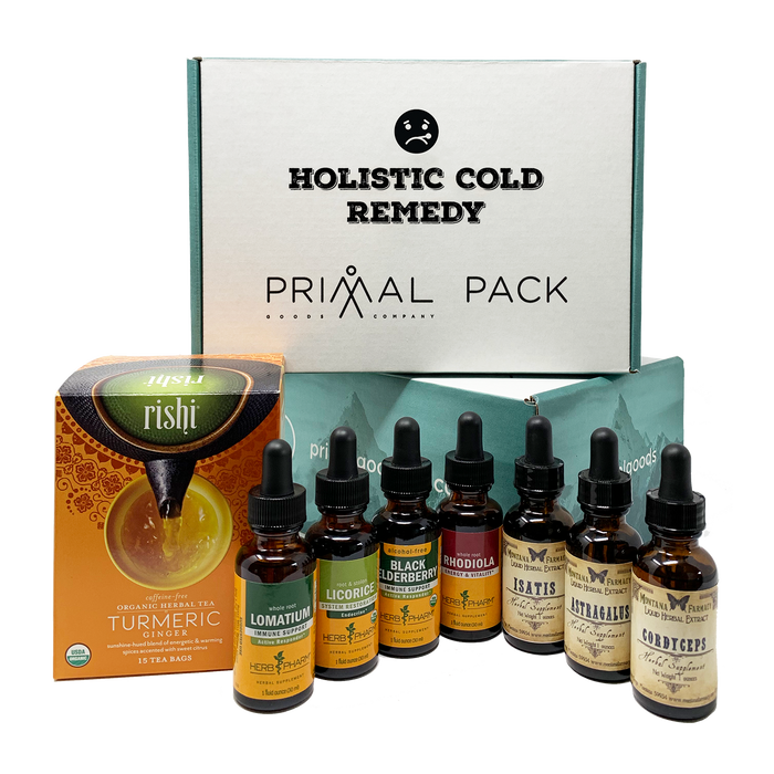 Holistic Cold Remedy Primal Pack
