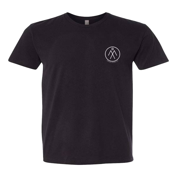 Men's Short Sleeve Athletic Tee - Black