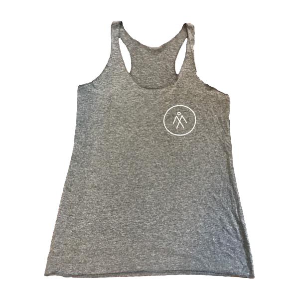 Women's Athletic Racerback Tank - Heather