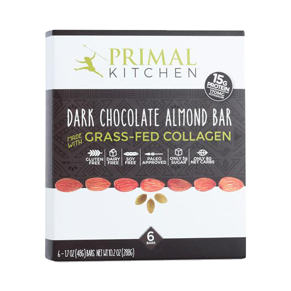 Primal Kitchen - Dark Chocolate Almond Bars (12-Pack)