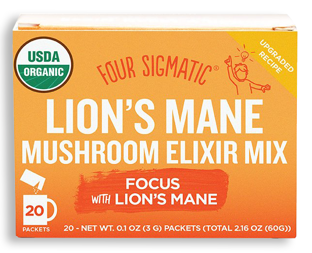 Four Sigmatic - Lion's Mane Mushroom Elixirs