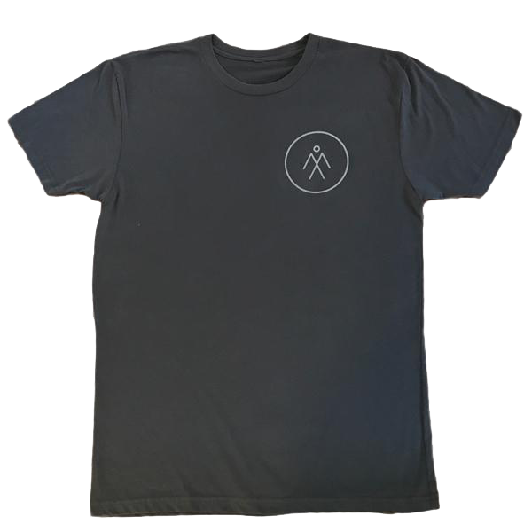Men's Short Sleeve Athletic Tee - Charcoal