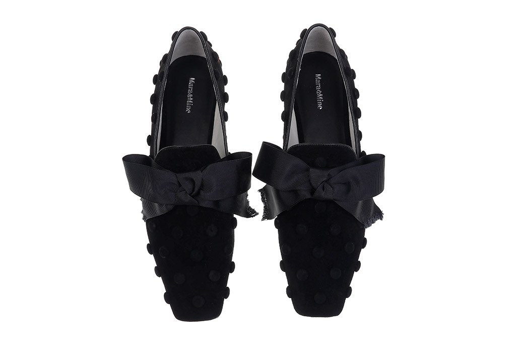 Lucia Slippers - Black