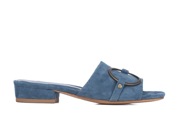Mary Mule - Blue Antique Gold