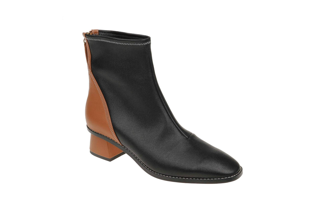 India Stretch Boot - Black/Brown
