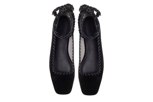 Albus Lumen X Mara & Mine Jackie Slipper - Black