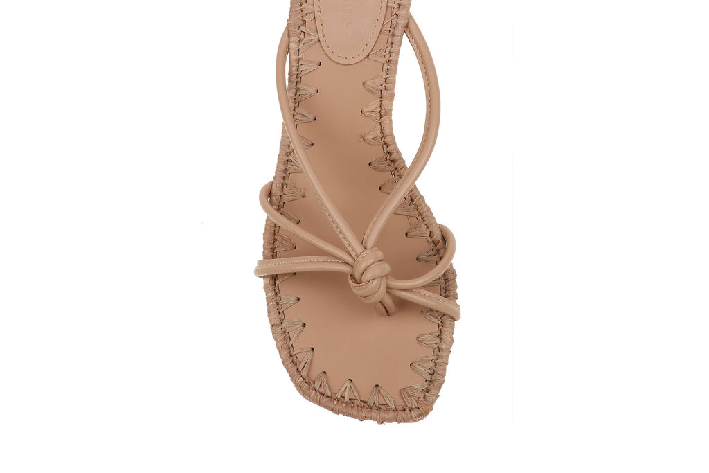 Azeline Wedge - Taupe