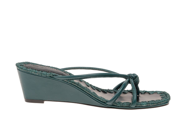 Azeline Wedge - Green