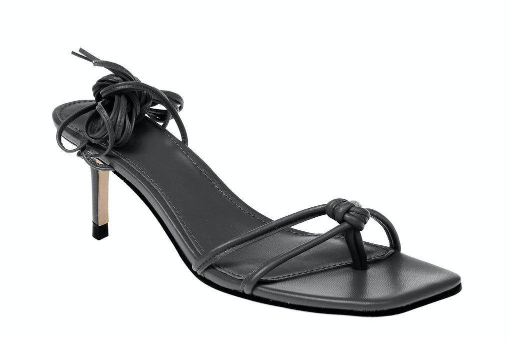 Olympia Kitten Heel - Black