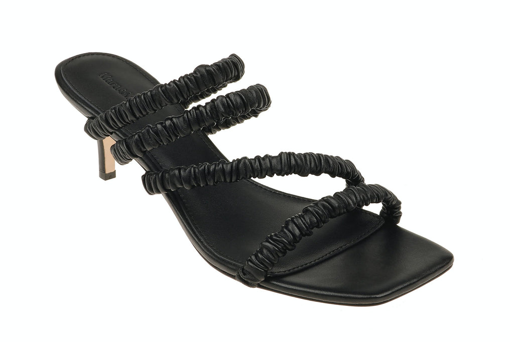 Theresa Heeled Sandal - Black