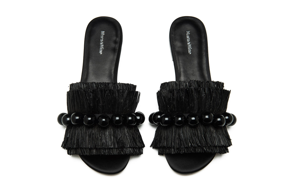Annika Slides - Black