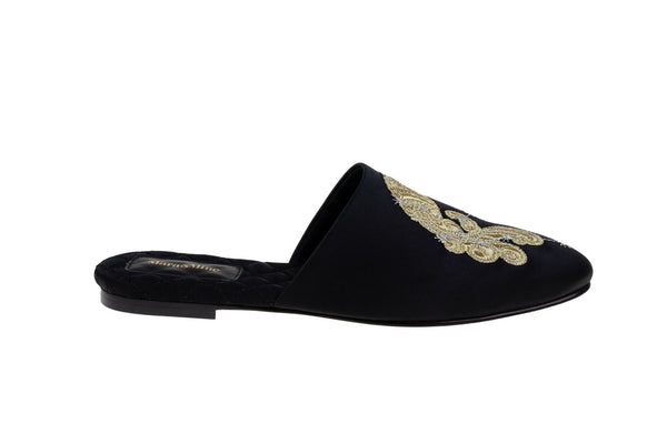 Aquarius Satin Mule