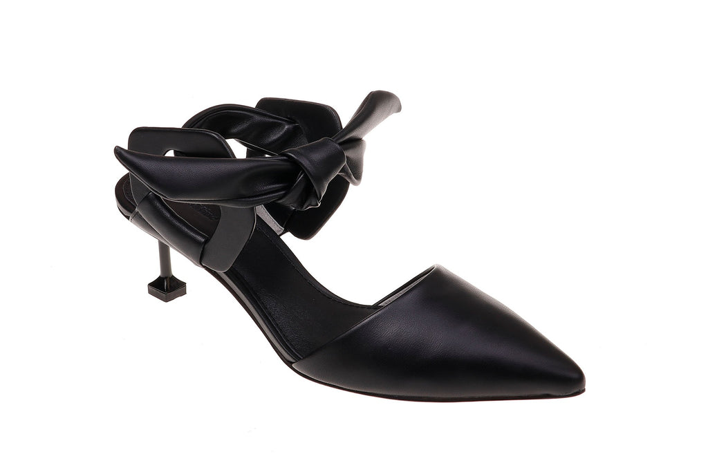 Mia Kitten Heel - Black