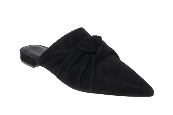 Isabelle Pointed Mule - Black