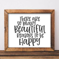 Beautiful Reasons - Printable - Printable Digital Download Art by Gracie Lou Printables