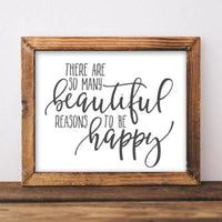 Beautiful Reasons - Printable - Gracie Lou Printables
