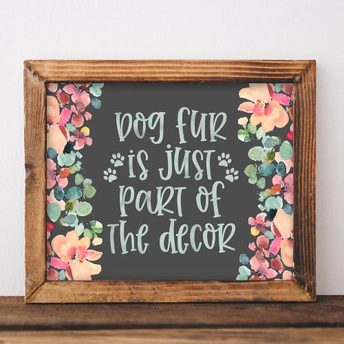 Dog Fur - Printable - Gracie Lou Printables