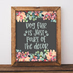 Dog Fur - Printable - Printable Digital Download Art by Gracie Lou Printables