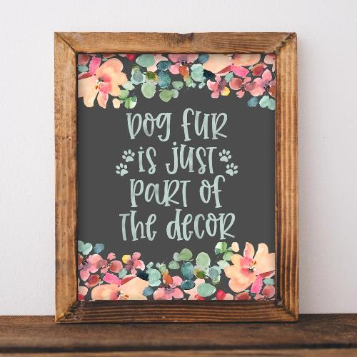 Dog Fur - Printable - gracie-lou-printables