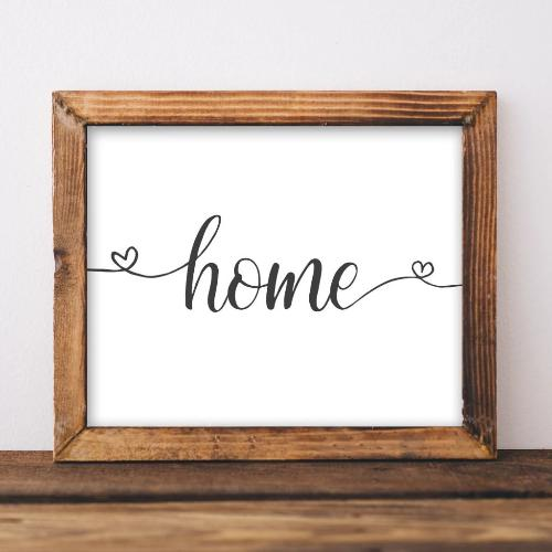 Home - Printable - Printable Digital Download Art by Gracie Lou Printables
