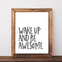 Be Awesome - Printable - Gracie Lou Printables