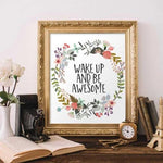 Awesome - Printable - Printable Digital Download Art by Gracie Lou Printables