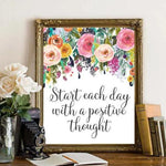 Start Each Day - Printable - gracie-lou-printables