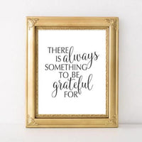 Grateful - Printable - Printable Digital Download Art by Gracie Lou Printables