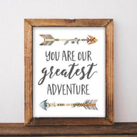 You Are Our Greatest Adventure - Printable - Gracie Lou Printables