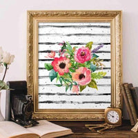 Floral Bouquet - Printable - Gracie Lou Printables