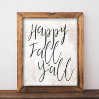 photo about Happy Fall Y All Printable known as Content Tumble Yall - Printable