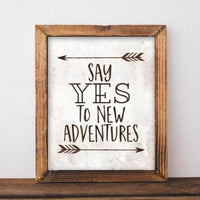 Adventures - Printable - Printable Digital Download Art by Gracie Lou Printables