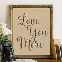 Love You More - Printable - Gracie Lou Printables