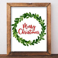Merry Christmas - Printable - Gracie Lou Printables