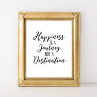 Happiness - Printable - Printable Digital Download Art by Gracie Lou Printables