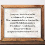 Love Grows Best - Printable - Printable Digital Download Art by Gracie Lou Printables