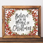Magic of Christmas - Printable