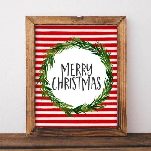Merry Christmas - Printable