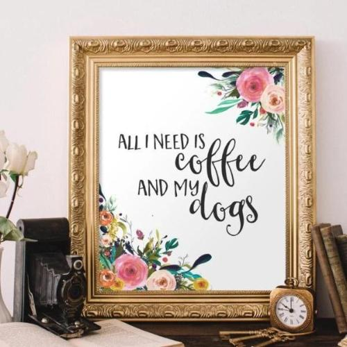 All I Need - Printable - Printable Digital Download Art by Gracie Lou Printables