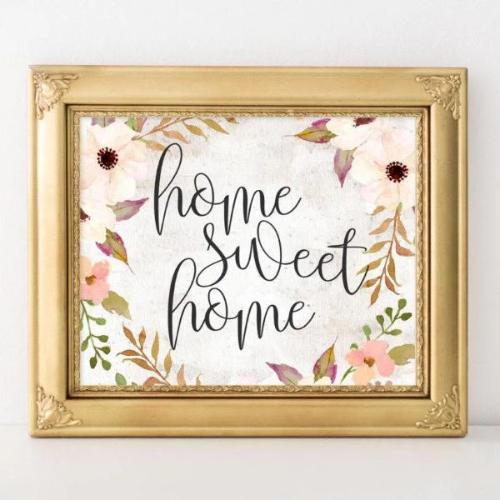 Home Sweet Home - Printable - Gracie Lou Printables