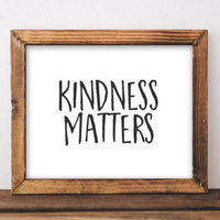 Kindness Matters - Printable - Gracie Lou Printables