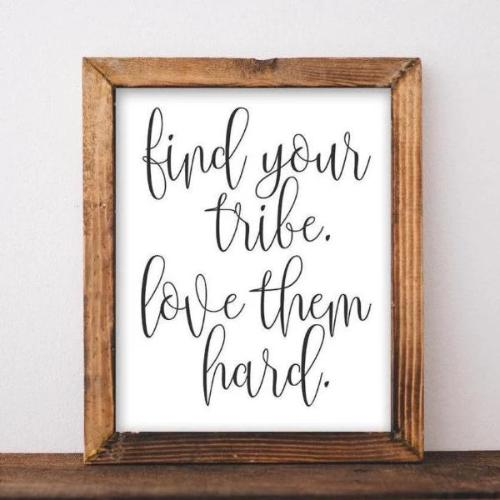 Find Your Tribe - Printable - gracie-lou-printables