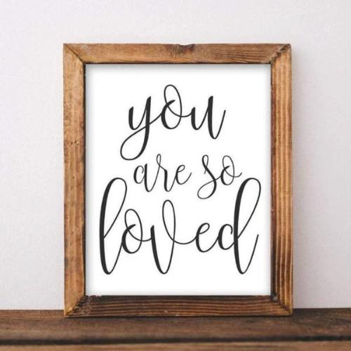 You Are So Loved - Printable - gracie-lou-printables
