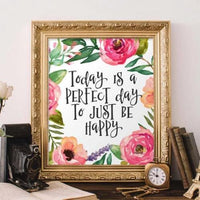 Perfect Day - Printable - Printable Digital Download Art by Gracie Lou Printables