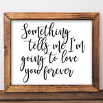 Love You Forever - Printable - Printable Digital Download Art by Gracie Lou Printables
