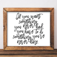 Something - Printable - Printable Digital Download Art by Gracie Lou Printables